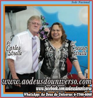 Pr Carlos Strelle e Pra Creusa Strelle