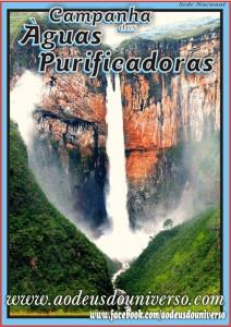 Campanha das Aguas Purificadoras - foto Chamada - Igreja Ao Deus do Universo - Pr Daniel Strelle