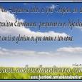 """Que a Paz do nosso Senhor Jesus esteja em sua vida. """" Mas alegrem-se todos os que confiam em ti; exultem eternamente, porquanto tu os defendes; e em ti se […]"""