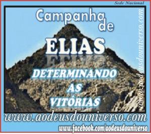 CAMPANHA DE ELIAS - DETERMINANDO VITORIAS