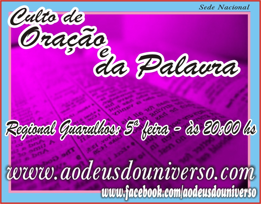 5 feira chamada Guarulhos