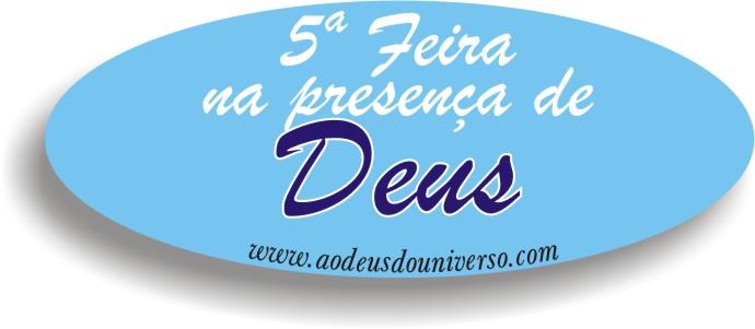 5 feira com Deus