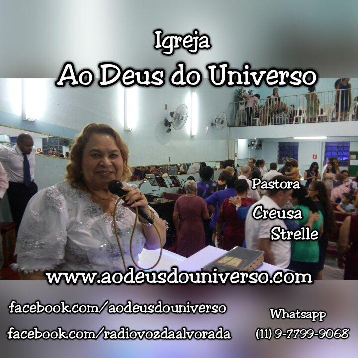 Pastora Creusa Strelle 01 - Igreja Ao Deus do Universo