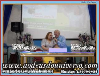 Pra Creusa Strelle e Pr Carlos Strelle - Igreja Ao Deus doUniverso