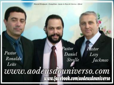 tres pastores - Ao Deus do Universo