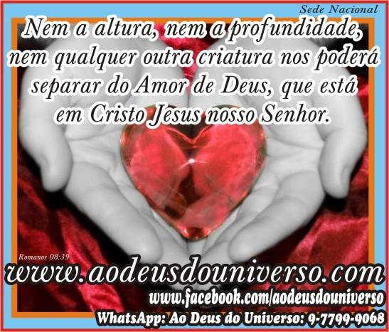 Nada pode nos separar do amor de Deus