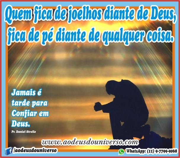 Humilhai-vos diate de Deus - Pr Daniel Strelle - Igreja Ao Deus do Universo
