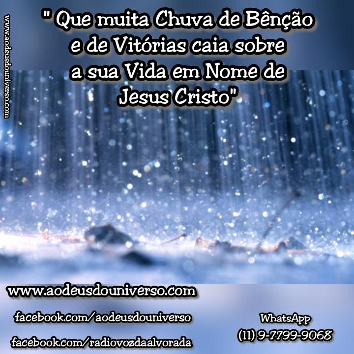 Chuva de Benção - Igreja Ao Deus do Universo