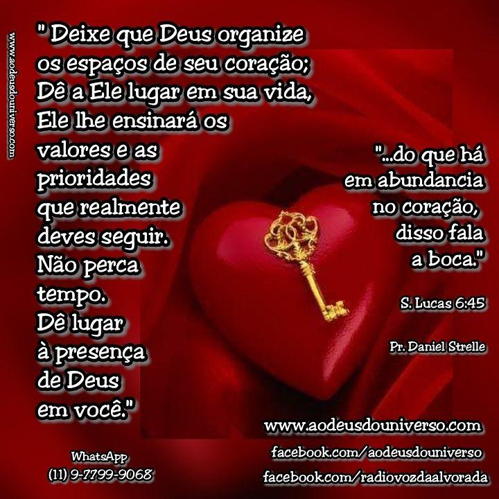 Deus no Controle do coração - Igreja Ao Deus do Universo