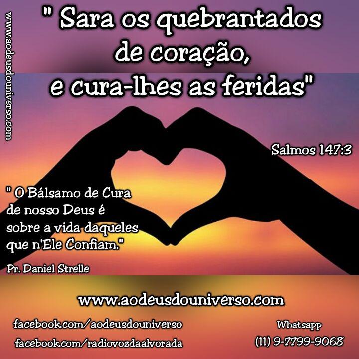 Quebrantados de Coração - Igreja Ao Deus do Universo