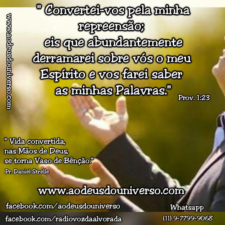 Convertei vos ao Senhor - Igreja Ao Deus do Universo
