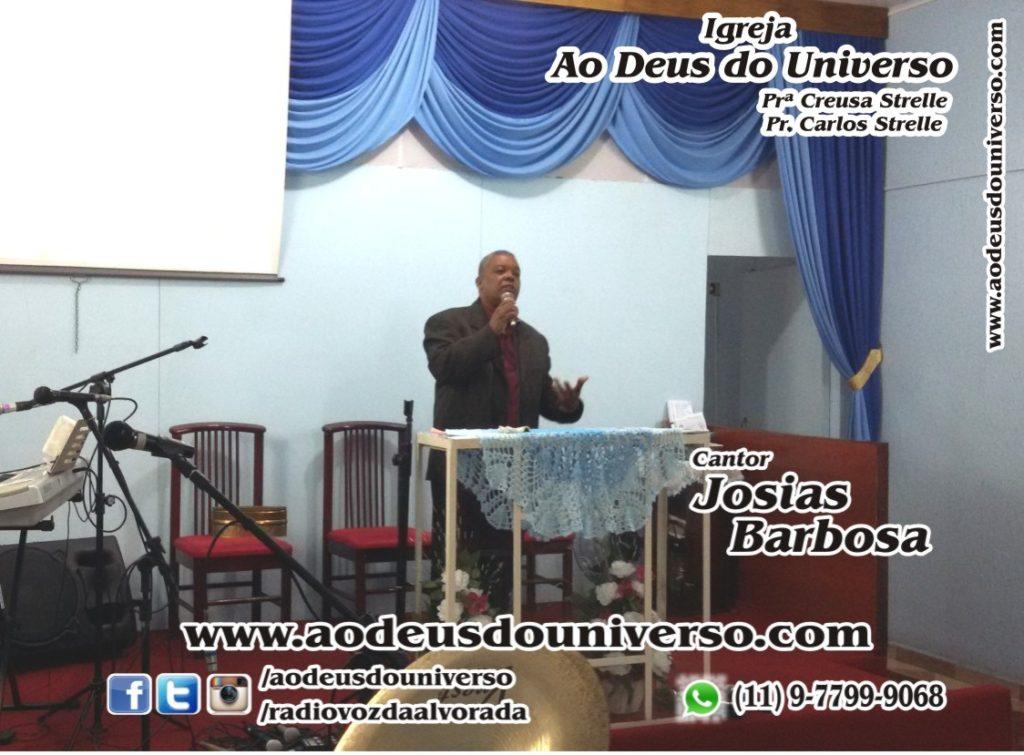 Josias Barbosa na Igreja Ao Deus do Universo 01