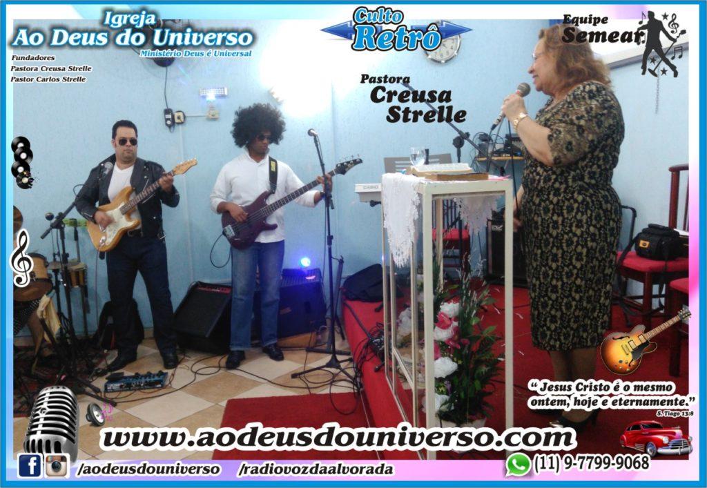 Culto Retro - 2016 - Semear Mooca - Igreja Ao Deus do Universo.