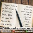Amamos estar na Casa de Deus, pois neste Lugar Acontecem Coisas Maravilhosas.  A Paz do Senhor. Aos que andam em retidão, Deus, em sua infinita Graça, não nega nada; […]