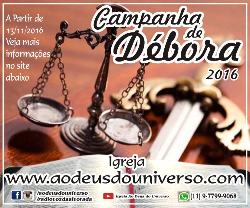 Campanha Débora 2016 - Logo marca