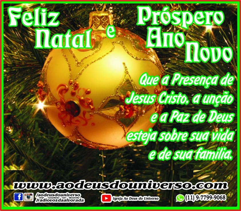 Natal 2016 - Igreja Ao Deus do Universo